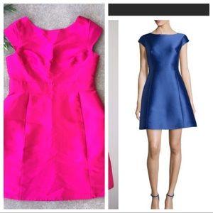Kate Spade Silk Backless Mini Dress - New